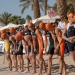 ITU Eilat Triathlon 2009:start mechanism:beach mass