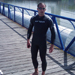 ITU Viena Triathlon European Cup 2010- training in the Danube river
